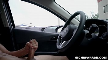 NICHE PARADE - Dick Flash For Surprised Latina In Parking Lot thumbnail