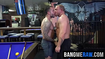 Pierced bears fucking raw with barebacking and blowjobs