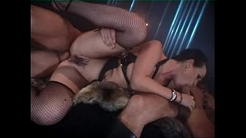 Orgy in leather dress for sex slaves preview image