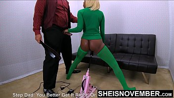 Brat Step Daughter Pay Debt By Jerking Father & Pussy Juice, Petite Black Babe Msnovember Brutal Fauxcest by Sheisnovember HD