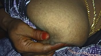 desi indian tamil aunty telugu aunty kannada aunty malayalam aunty hindi bhabhi horny cheating wife vanitha wearing  nighty showing big boobs and shaved pussy lips press hard boobs press nip rubbing p