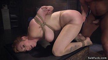Patient anal fucks intern in bondage