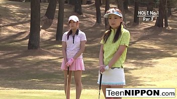 Lpga sexy golfers - Teen golfer gets her pink pounded on the green