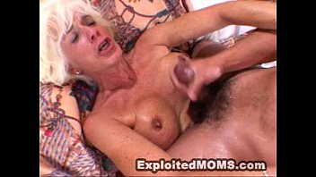 Grannies creative sex videos Mom gets used and abused by a big black cock in hot mature video