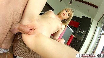 All internal sex - Allinternal shy newcomer enjoys her vaginal creampie