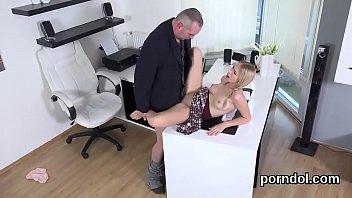 Ideal schoolgirl gets seduced and fucked by senior tutor