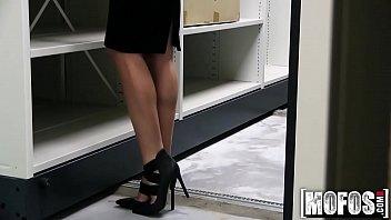Czech Blonde Fucks In Office Video Starring Cristal Caitlin - Mofos.com