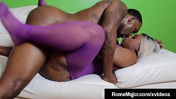 Thick Black Babe Cherise Rozy Fucked By BBC Rome Major!