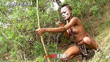Sex in africa tribes movies - Trailer : skinny ebony hunter in her porn sex safari