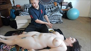 Busty Teen With Big Ass Gets Sexy Oil Massage video