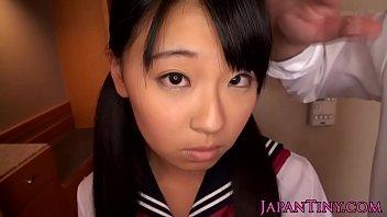 Petite japanese slut spunk covered thumbnail