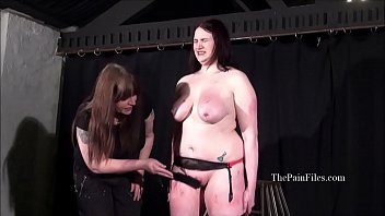 Amateur slave tit whipping and lesbian bbw spanked to tears