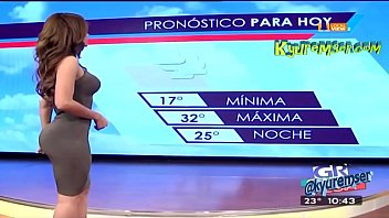 Sexy weather girls tv - Yanet garcia una diosa