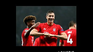 Bayern comendo o cu do Tottenham, deu o cu em casa