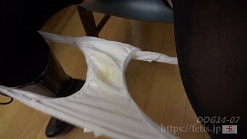 Dog Snuffling Daughter 9 No.07 The stained panties that she continued to wear(FETIS.JP)