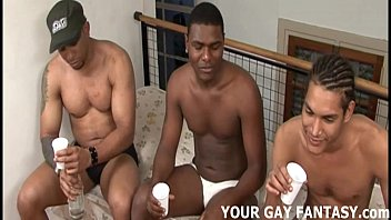 Your first hot gay threesome will be perfect