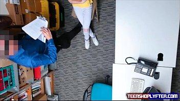 Skinny Teen Shoplyfter Catarina Petrov Sob And Slob Knob