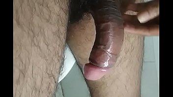Hot   Big   Pink Black   Cock Jerking off in sexy Toilet   100% Cum enjoyable