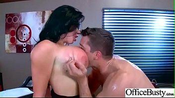 (Sybil Stallone) Busty Horny Slut Office Girl Enjoy Sex movie-29