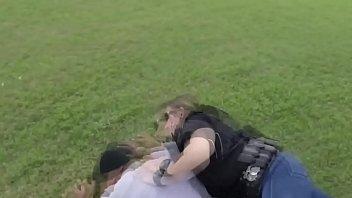 Two Busty Femal e Cops Caught A Bad Thief  Bad Thief