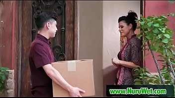 Milf Masseuse Gives Nuru Gel Massage - India Summer & Juan Loco