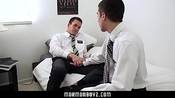 MormonBoyz- Fooling Around At Church Turns Into Raw Threesome