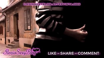 Streaming Video Sexy Handjob to a Stranger in a Public Road - IleniaSexyBlog - XLXX.video