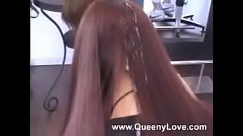 Queen hairjob