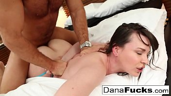 Dana DeArmond takes a healthy sized dick before filling her with jizz