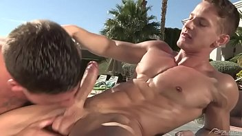 Gay muscle pool porn - Pool muscle fuck 2