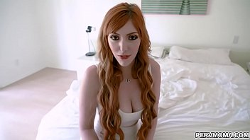 Hot redhead MILF Lauren Phillips gets a suprise sex from her horny stepson for mothers day.