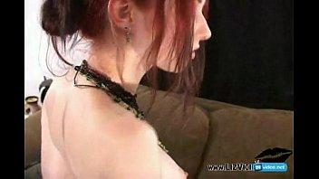 Sexy gothic asain girls - Liz vicious gothic girl creampie pov