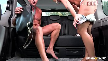 VIP SEX VAULT - Naughty Kattie Hill Knows Exactly What She'll Get If Will Go At That Driver