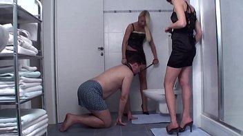 Golden showers dominatrix - Young femdomgirls dominate and humiliate men