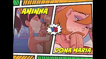Disputa De Sexo Oral! Quem Faz O Melhor Boquete? Dona Maria Ou Aninha?