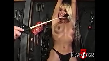 BRUCESEVENFILMS - Stunner Tyna Lynn chained and tormented
