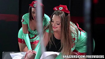 Latex help e-book Brazzers - sexy nurses dani and luna help with sexual healing