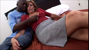 Free black mature video Amateur mature milf taking a big black cock in interracial video