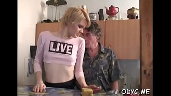 Vigorous blonde Diana gets mouth abused
