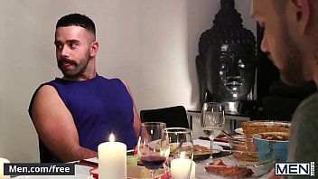 Matthew Parker and Teddy Torres - The Dinner Party Part 2 - Drill My Hole - Men.com