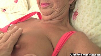 Hottest British grannies still need their daily orgasm