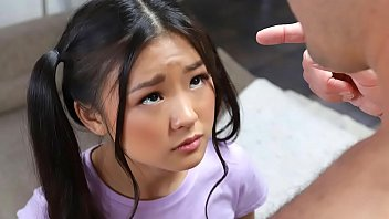 Small teen free Tiny asian schoolgirl gets caught messing around