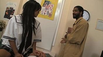 18 Yo Asian Babe Caught Fucking Teacher In Detention