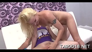 Awesome teen girl JC Simpson blowing like a pornstar