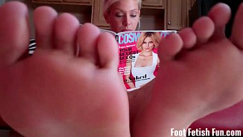 Pamper Summer's perfect size 8 feet