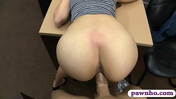 Adorable babe shows off ass and smashed