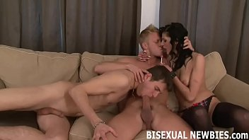 How to tell if a man is bisexual I can tell this is your first time with another guy