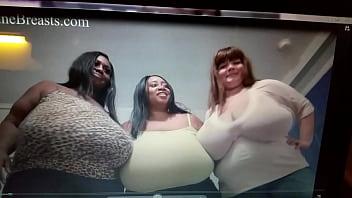 Boob fat juggs tit Jiggly tit flesh