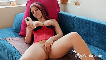Horny Babe Talya Toying Her Pussy