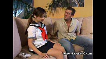 Schoolgirl Hardcore sex